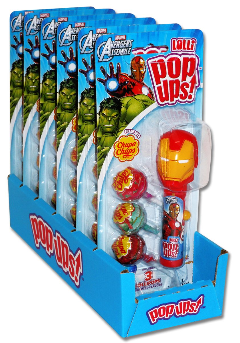Pop Ups Avengers All Distributed Items Distributed