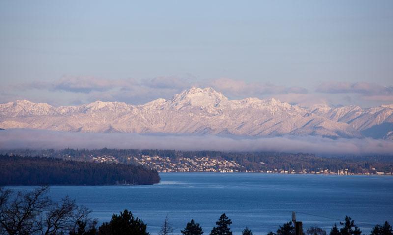Olympic Mountains Range In Washington Alltrips