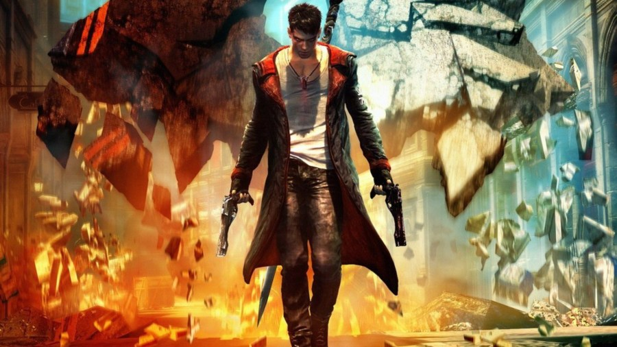 Video games devil may cry dmc game art wallpaper   AllWallpaper in     Wallpaper resolutions