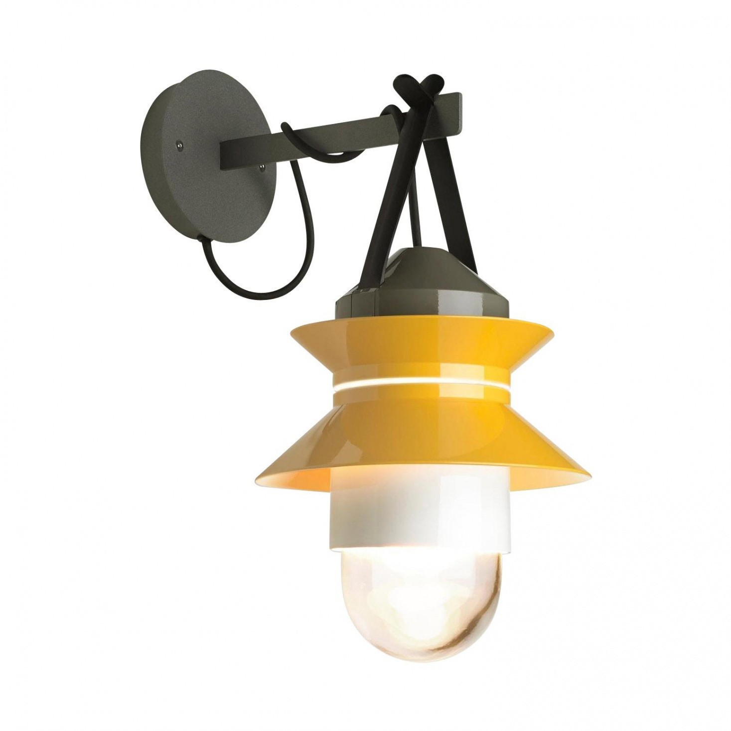 santorini outdoor wall lamp