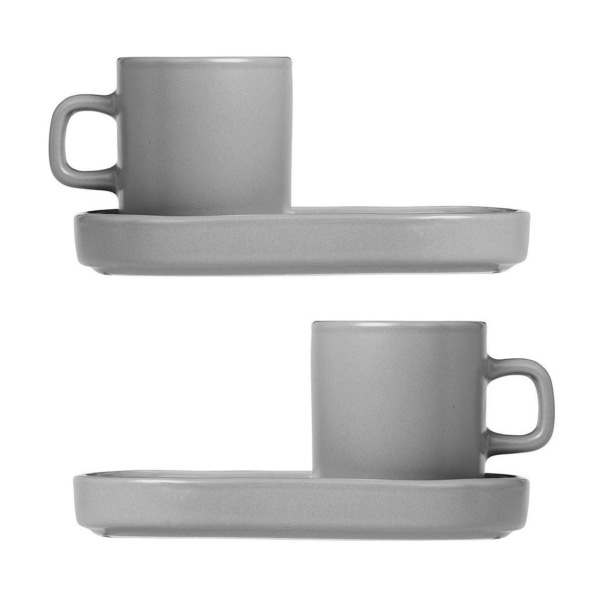 pilar espresso mug set of 4