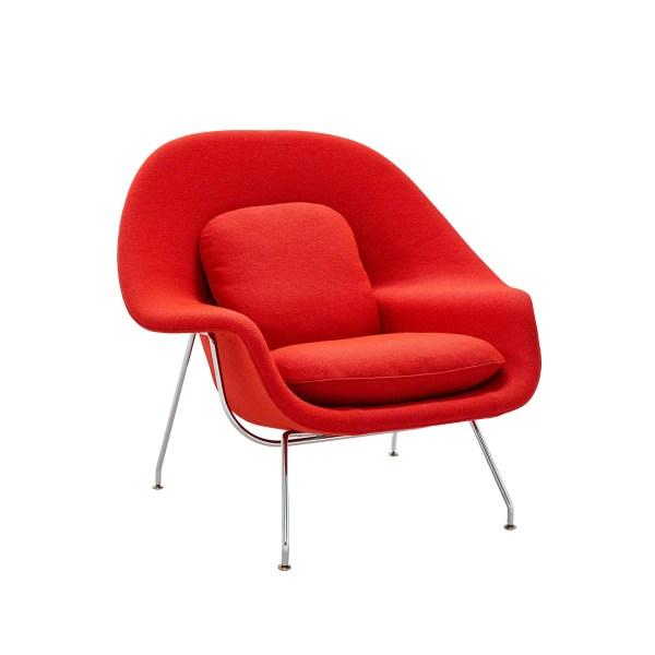 Knoll International Womb Chair Relax Frame Chrome