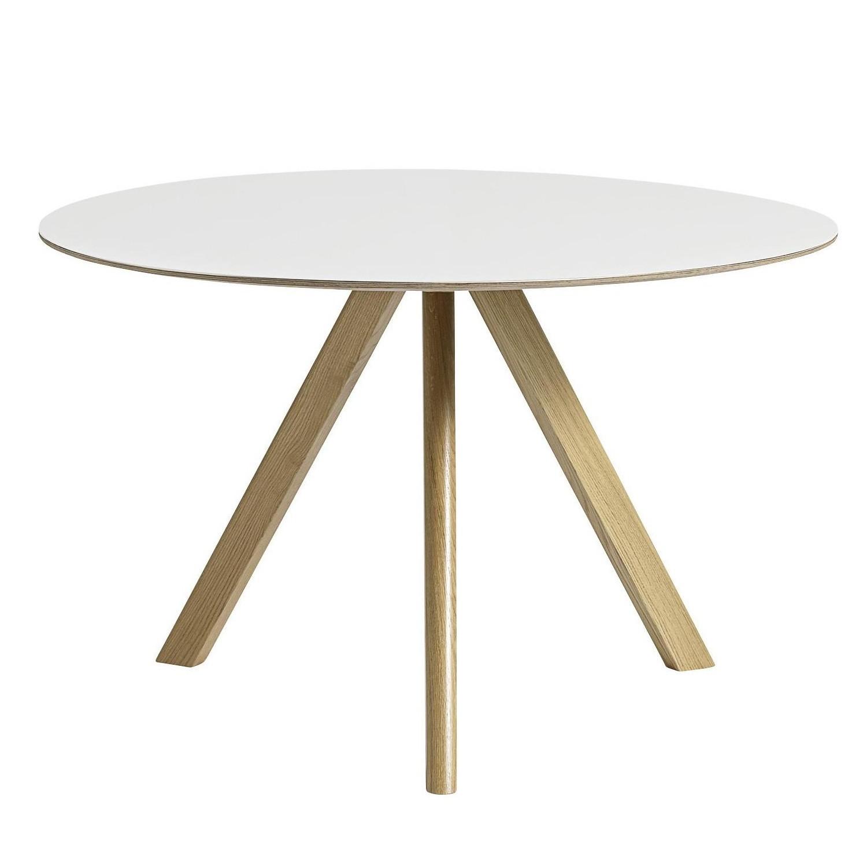 copenhague cph20 dining table linoleum o120cm