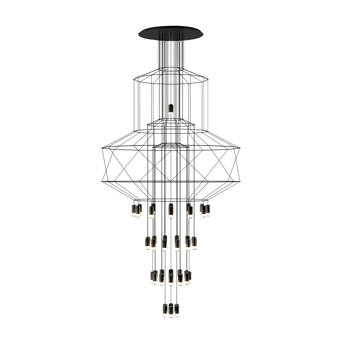 Wireflow Chandelier Led Suspension Lamp