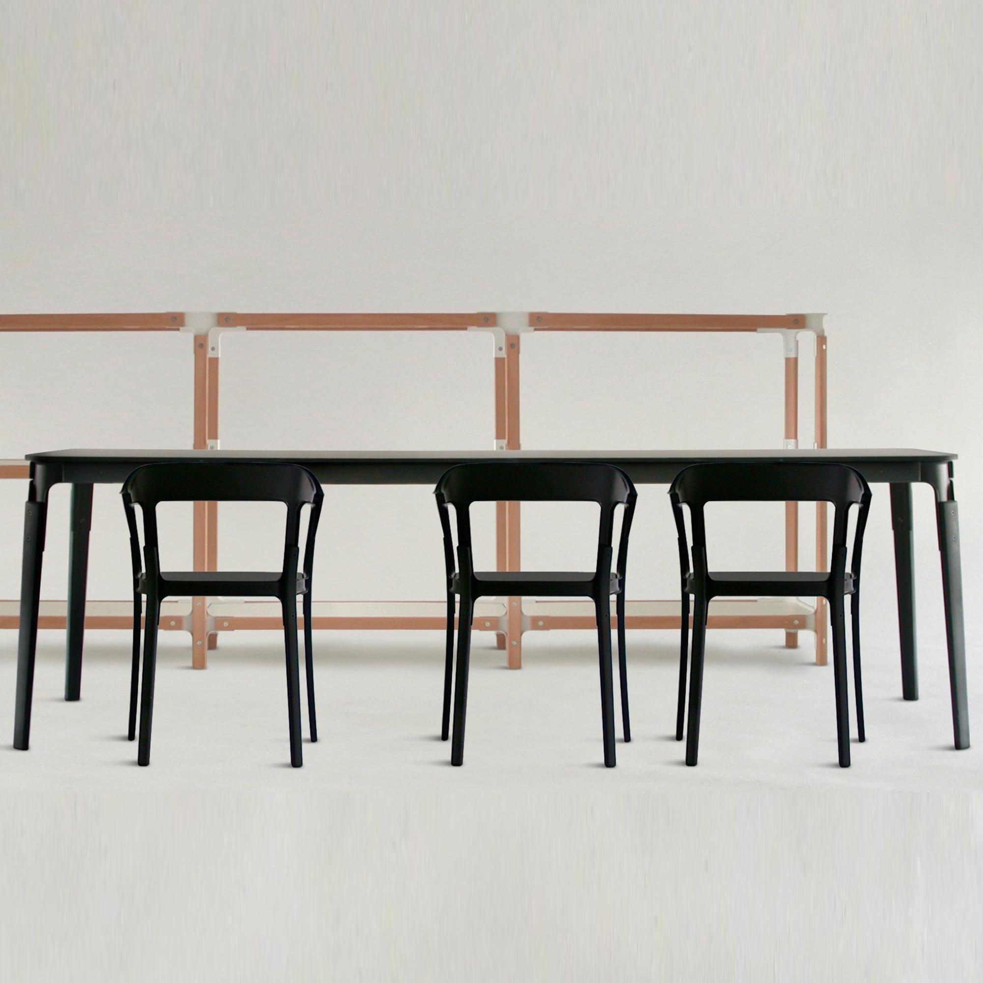 steelwood table 180x90cm