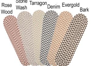 Multi Color Wool Stair Treads Are Braided Stair Treads By American | Wool Carpet Stair Treads | Flooring | Zealand Wool | Beige Carpet | Cat Pet | Hardwood Stairs