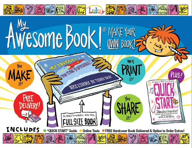My Awesome Book - Make Your Own Book | A Mighty Girl