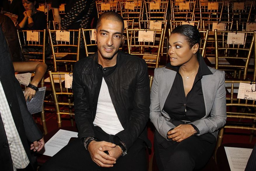 Wissam Al Mana and Janet Jackson attend the John Galliano Ready to Wear Spring Summer 2011 Fashion Show.  |  Photo: Getty Images