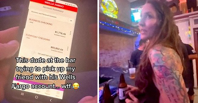 A man tries to pick up a girl using his bank account. | Source:  reddit.com/user/PM_ME_GHOST_DICKS