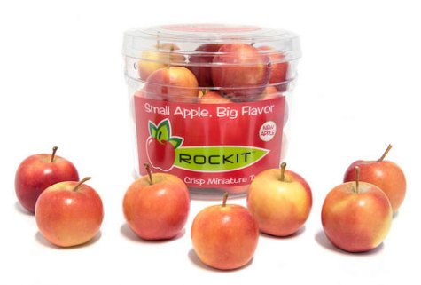 "Chelan Fresh Rockit™ apples are available in a tube offering or in the ""Millennial Mom's Cookie Jar"""