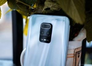 Camaras traseras del Redmi Note 9 Pro