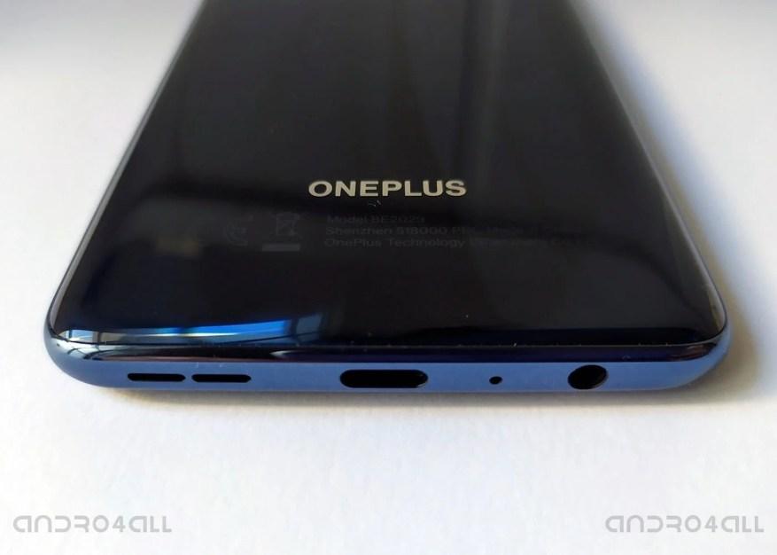 Lautsprecher und Buchse von OnePlus Nord N10 5G
