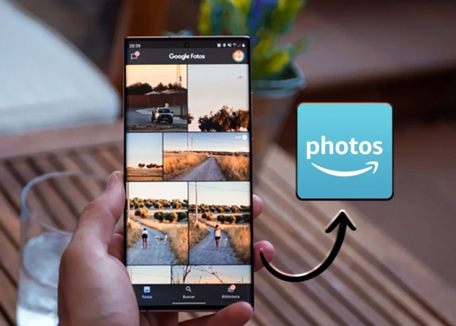Pasar fotos de Google Fotos a Amazon Photos