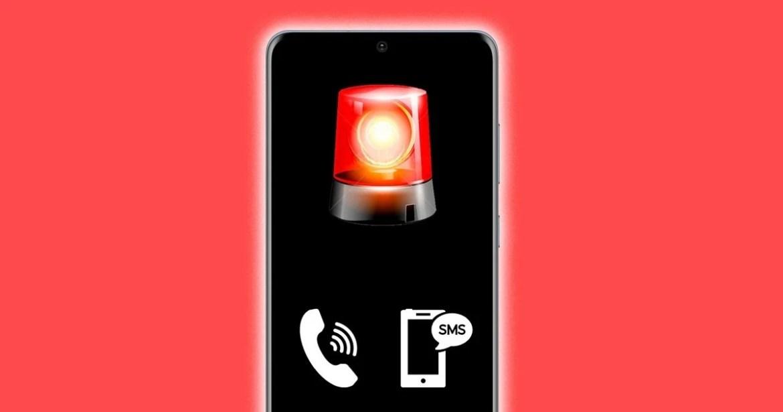 Botón de emergencias móvil Android