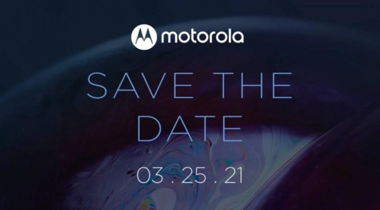 El Motorola Moto G100 será presentado el próximo 25 de marzo
