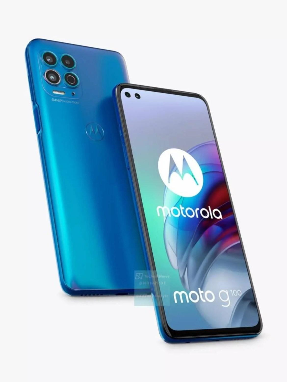 El Motorola Moto G100 al descubierto