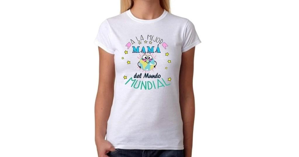 Camiseta mejor mamá