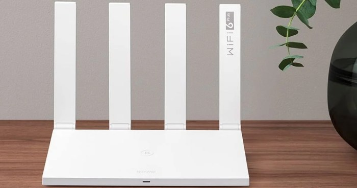 Router Huawei AX3-3000