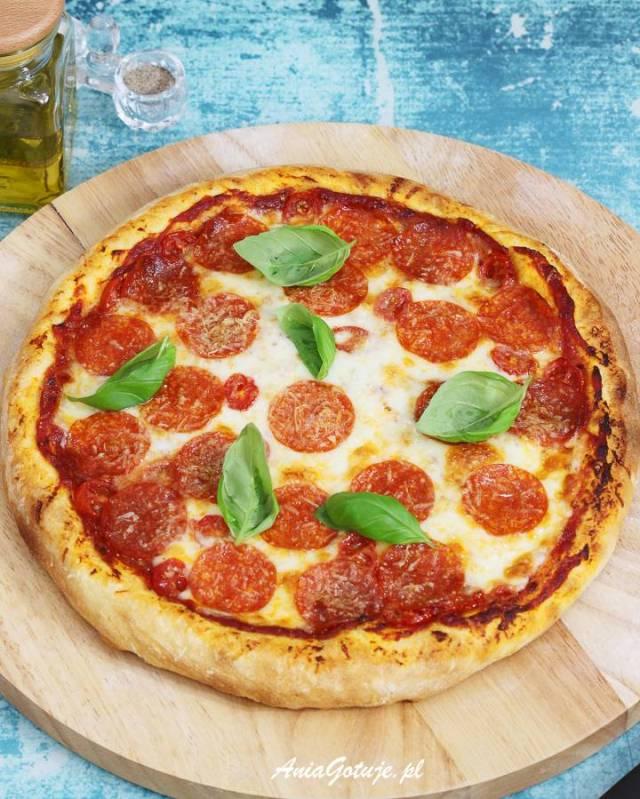Пицца без дрожжей, 1 шт.