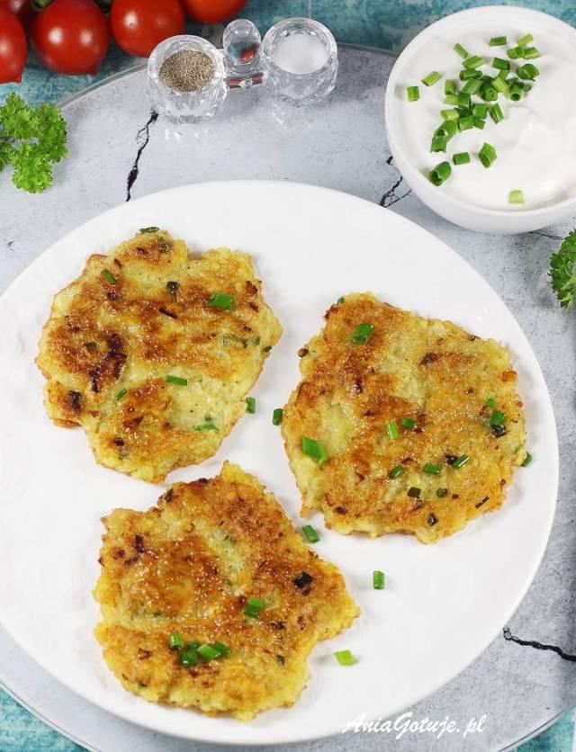 Картофельные оладьи, 2 шт.