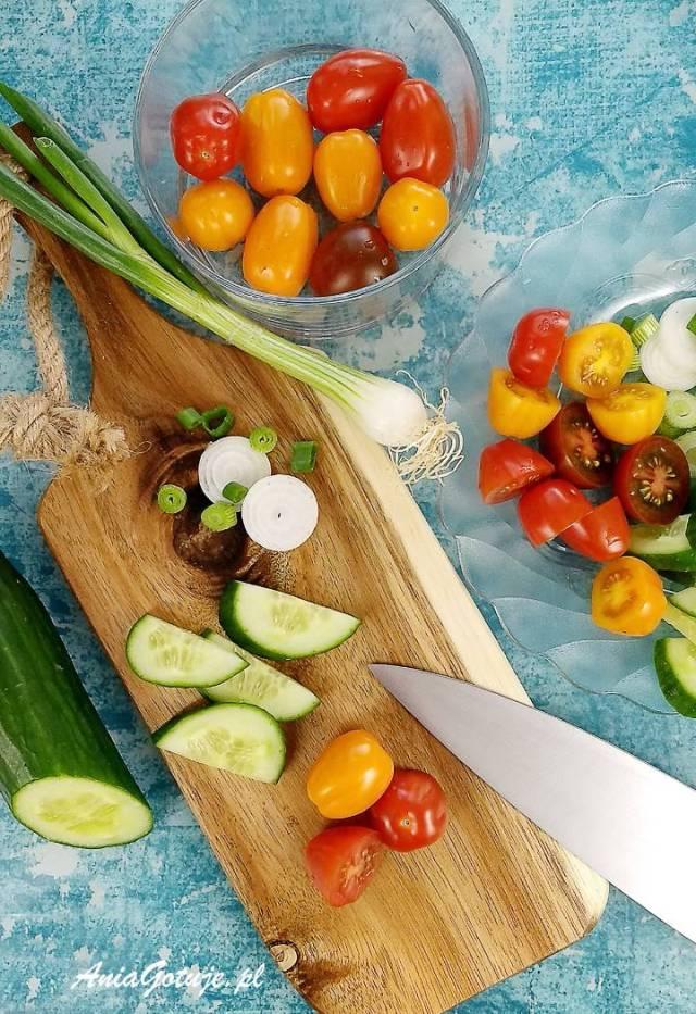 Салат из макарон, 4 шт.