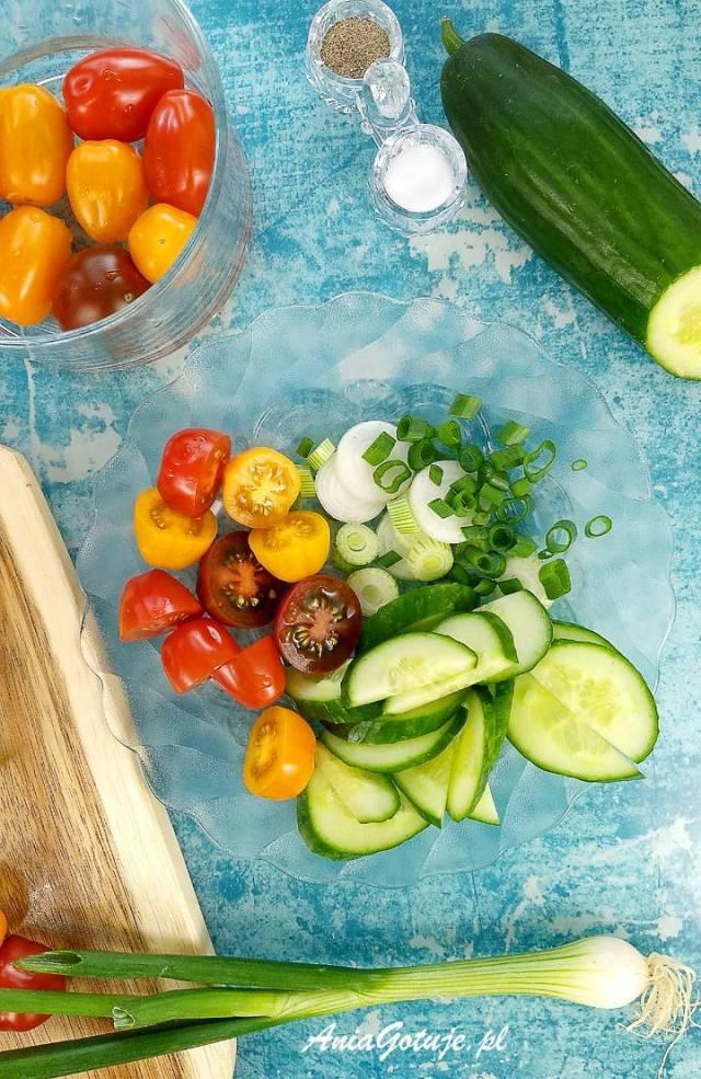 Салат из макарон, 5 шт.