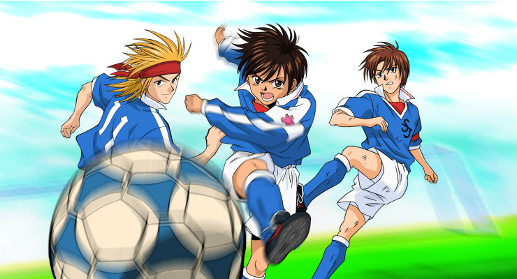 Best football animes to watch before a naked with friends