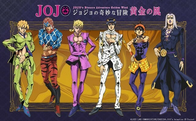 JoJo的奇异冒险-Golden Wind Anime Visual-001
