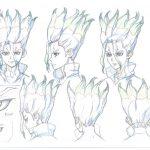 Dr Stone Character Visual - Senku