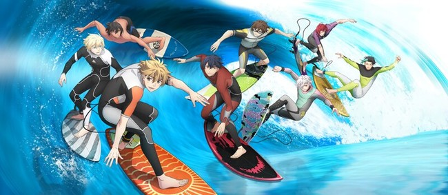 1st WAVE!! Surfing Yappe!! Anime Film's 1st 3 Minutes Streamed