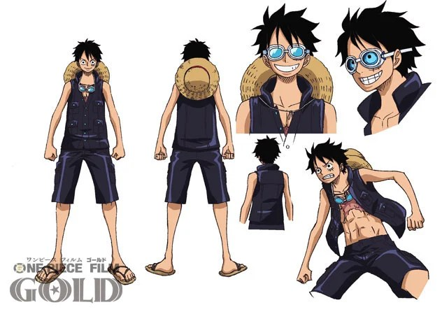 One Piece Film Gold Anime S Character Costumes By Original Creator Unveiled News Anime News Network