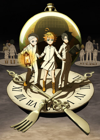 Netflix Adds 'Yakusoku no Neverland' Anime on September 1