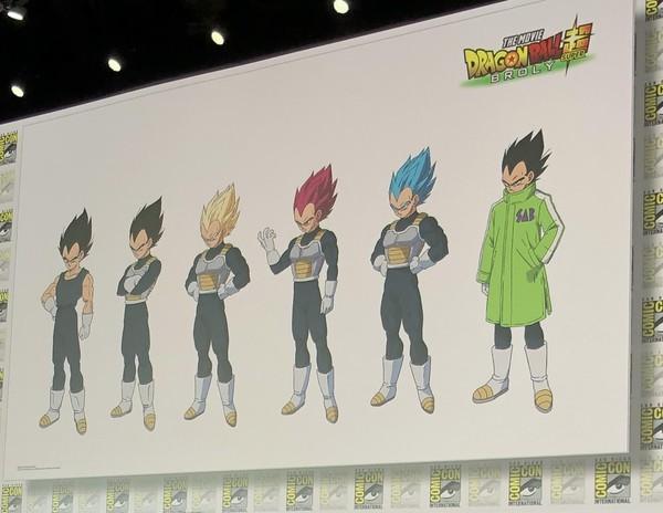 Perubahan karakter Vegeta