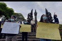 Aksi solidaritas mengecam terorisme – ANTARA News Bali