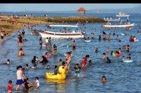 Suasana liburan di Sanur – ANTARA News Bali