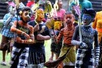 Tradisi Ngerebeg di Tegallalang – ANTARA News Bali