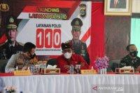 Bupati Tabanan apresiasi program layanan Polisi 110
