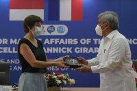 Menteri Kelautan Prancis senang kerja sama riset kelautan Indonesia