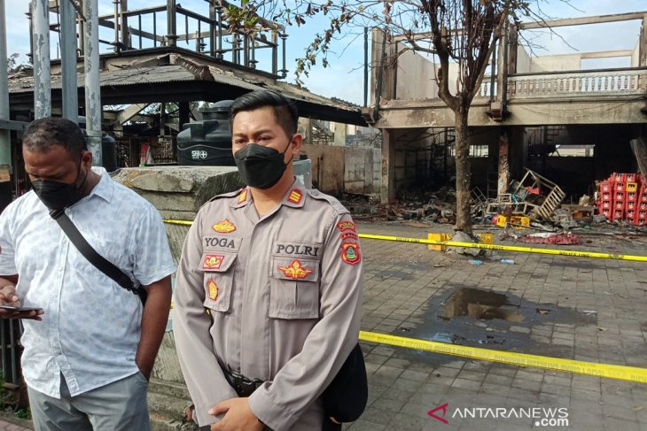 Polisi: kebakaran Pasar Blahbatuh-Gianyar telah padam