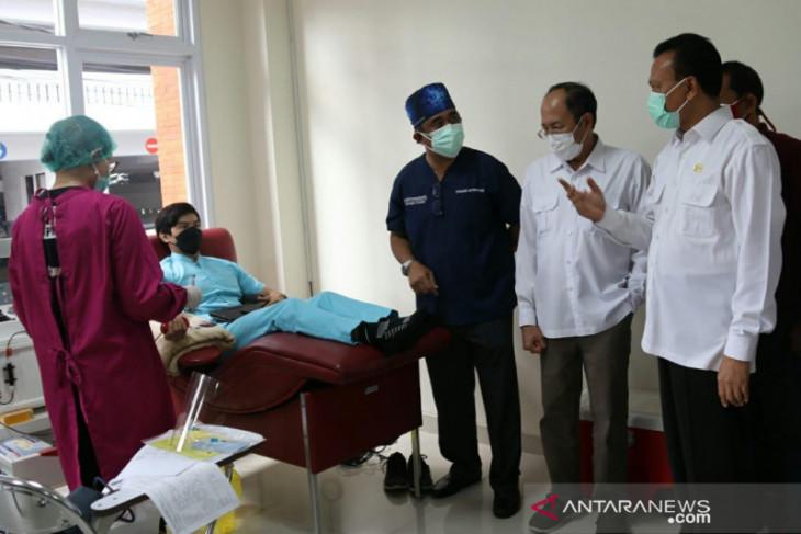 Pemprov Bali apresiasi donor plasma konvalesen oleh FK Unud