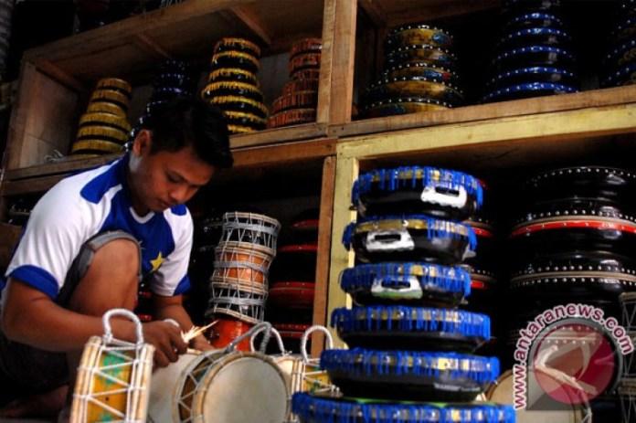 Alat Musik Rebana Dijual Hingga Luar Jawa Antara News
