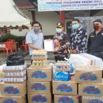 Gugus Tugas Kotim dapat bantuan 20.000 masker