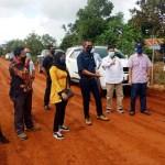 DPRD Kotim pantau perbaikan jalan poros Tanah Mas oleh perusahaan
