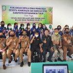 Komisi III DPRD Kotim kunjungi sekolah pantau penerapan belajar dari rumah