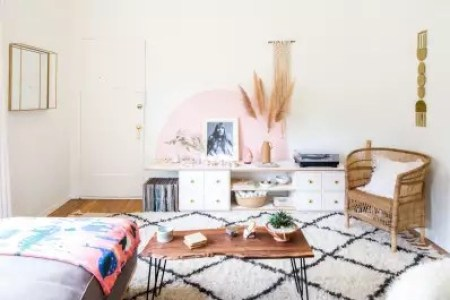 Wall Decor Ideas   45 Things to Try at Home   Apartment Therapy Sometimes all you need is a little paint in an unexpected application to  transform a room