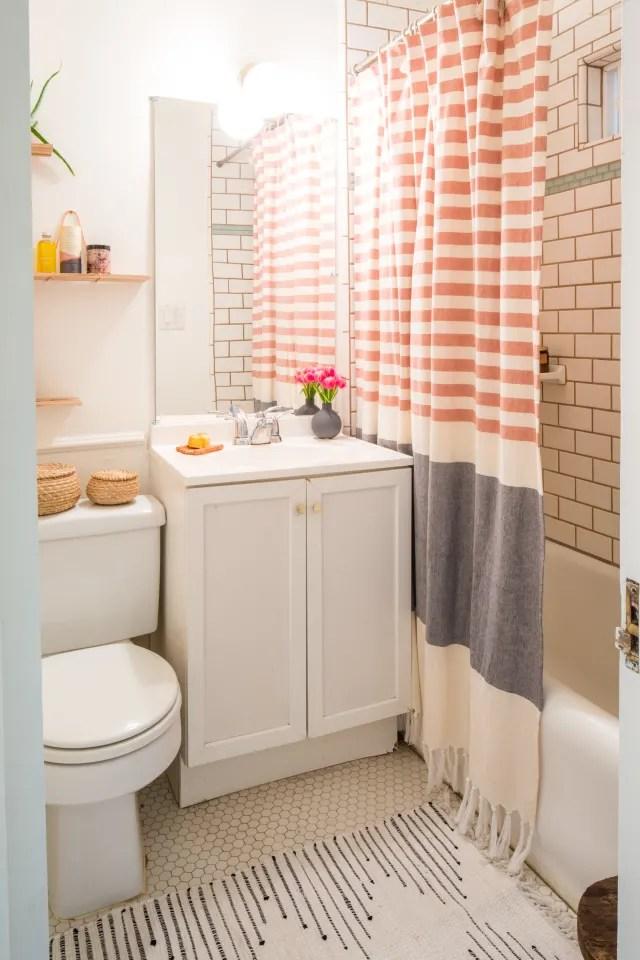 Small Bathroom Design & Storage Ideas   Apartment Therapy on Apartment Bathroom  id=40654