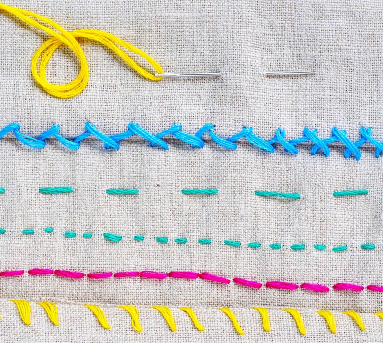 How To Hand Sew 6 Basic Stitch Photo Tutorials