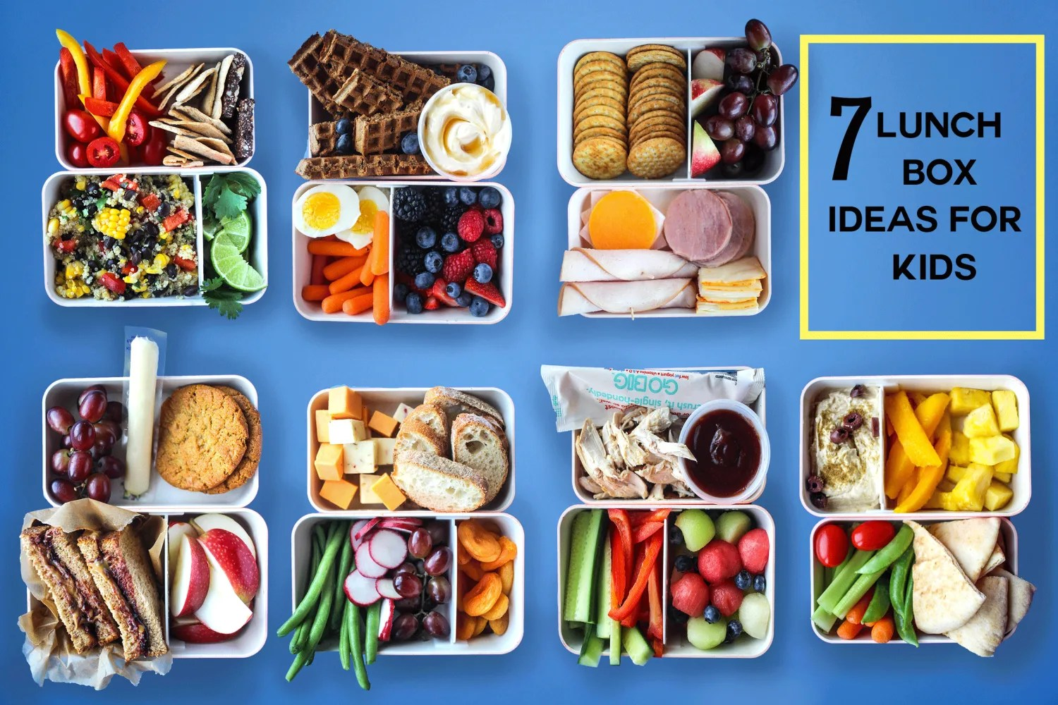 7 Lunch Box Ideas Kids Can Pack Themselves