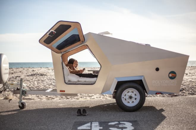 This $9,000 Trailer Is a Cozy, Otherworldly Sleep Space