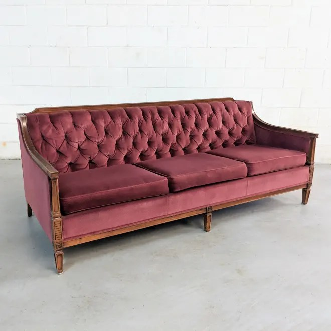 BAZAAR: A Stunning Tufted Sofa, A Campaign Sideboard, Tons of MCM & More!